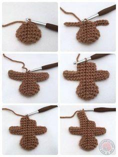 Gingerbread Man Free Crochet Pattern