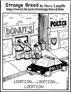 Dating a cop jokes about donuts