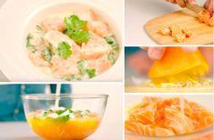 Le poisson à la tahitienne : un véritable voyage gustatif ! - La Recette Omelette, Cantaloupe, Fruit, Food, Outlander Recipes, Cooking Recipes, Cilantro, Easy Cooking, Salmon
