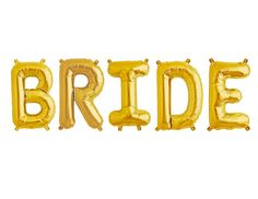 Bride Balloon | Bride Decorations | Jumbo Bride Banner | Large Bride Balloon Banner | Bridal Shower Decor | Bridal Shower Ideas | Bride Ideas | Bridal Shower Party Ideas