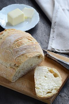 One of my favorite recipes... Just made this last night. It's SOOOOOOO good. No-knead bread