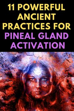 The pineal gland is a small endocrine gland that is vital for spiritual health. Here is a list of 11 powerful ancient practices for pineal gland activation. Chakra Meditation, Spiritual Meditation, Spiritual Wisdom, Meditation Music, Mindfulness Meditation, Spiritual Health, Spiritual Guidance, Mental Health, Opening Your Third Eye