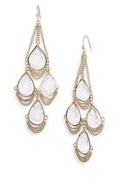 Kendra Scott 'Trista' Stone Chandelier Statement Earrings | Nordstrom