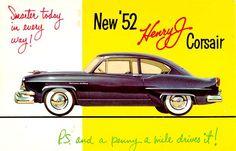1952 Henry J Kaiser - Corsair - Classic Automobile Ad
