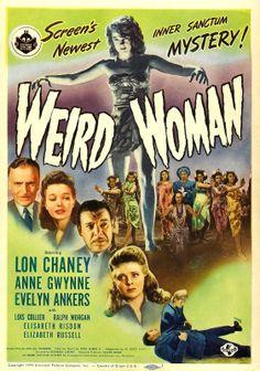 Weird Woman, poster 1944
