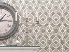 Moroccan Wall Stencil - Reusable Wall Stencil - Seamless Pattern Wall – StencilsLab Wall Stencils