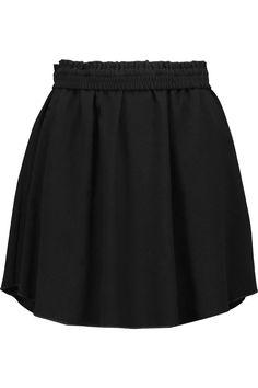 ETOILE ISABEL MARANT Milena Crepe Mini Skirt. #etoileisabelmarant #cloth #skirt