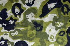 Tokidoki Camo Girls Green Tokidoki Camo Girls Green Cotton Jersey Knit Fabric [JK305G] - $14.00 : Banberry Place, Kids Knit Fabrics :: Euro Fabric :: Women & Children's Indie Patterns :: Novelty Woven Ribbon