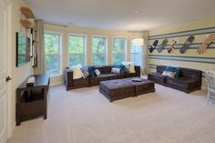 Man Room actual Floor plan  Home Features | Avalon | New Home in Ballanmoor | Pulte Homes