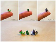 Project 151: Caterpie, Metapod, Butterfree by lonelysouthpaw.deviantart.com on @deviantART