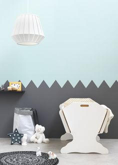 Chambre d'enfant / Kids room / Couleur: Zolpan lance sa collection peintures pour les chambres de bébé - Marie Claire Maison