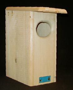 """Duck Houses:  Our """"Small Wood Duck House"""" is small, not the duck. Scientific research decided the smaller house helped out the duck population and that's good enough for us!"""