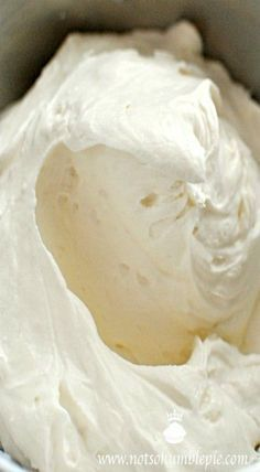 Copycat Cinnabon frosting from CopyKat.com