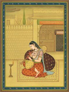 Our exhaustive collection includes Paintings of Hindu Gods & Goddesses. ExoticIndia – The online Indian Art Store. Pichwai Paintings, Mughal Paintings, Indian Art Paintings, Indian Artwork, Indian Folk Art, Indian Artist, Village Scene Drawing, Mughal Miniature Paintings, Indian Traditional Paintings