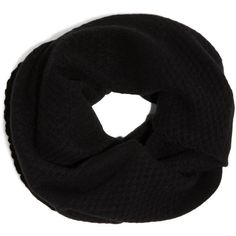 DKNY Cashmere Double Wrap Infinity Scarf ($225) ❤ liked on Polyvore featuring accessories, scarves, black, round scarf, circle scarves, tube scarf, infinity scarf and cashmere circle scarf