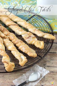 Glazed Chai Twists