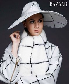 Audrey Hepburn's Granddaughter Emma Ferrer Models for Harper's Bazaar: See the Look-Alike Pictures