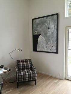 And on the top floor you may see one of my largest paintings. I sure do wish I had 4 meters below the ceiling...