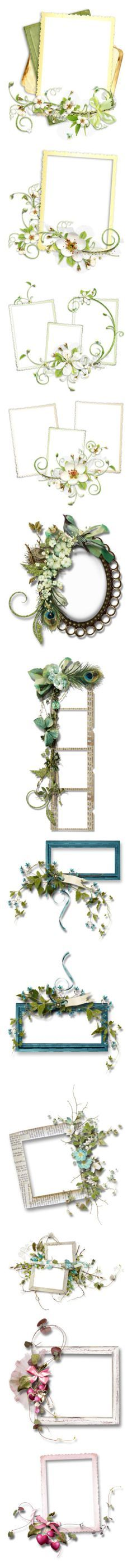 """""""Fancy Frames"""" by infracti-angelus ❤ liked on Polyvore featuring frames, backgrounds, borders, fillers, flowers, effects, embellishments, picture frames, detail and ramki"""