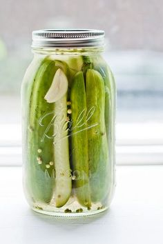 Easy Garlic Dill Pickles Simple and tangy these are ready to eat in just 24 hours and last about a month refrigerated (if they last that long!).