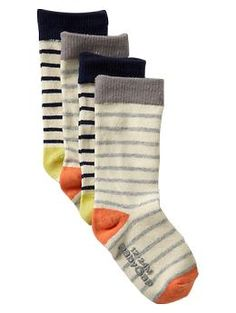 Colored striped socks (2-pack) | Gap