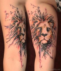 Lion Tattoos | Tattoo Designs Tattoo Pictures | Page 22