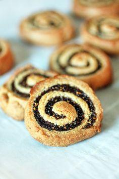 Fig Pinwheels via All Gluten-Free Desserts