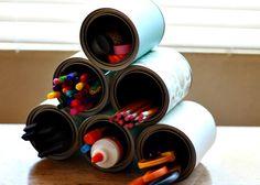 tin can craft organizer 1