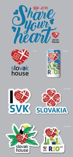 Slovak house in Rio de Janeiro branding