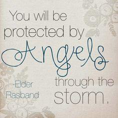LDS General Conference - Elder Rasband on Angels