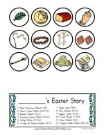Resurrection Egg Printables.  Easy to print off and put in your own Plastic Easter Eggs.