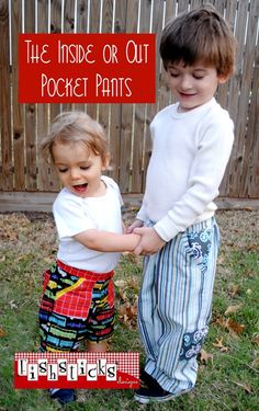 Inside or Out Pocket Pants  up to 5T// $9.95