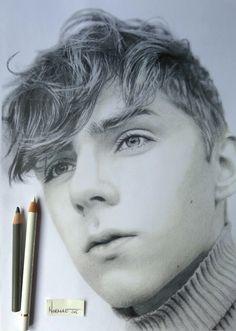 no rest for the wicked, portrait lovely Mikko Puttonen photographer blogger trendsetter model #draw  #mikkoputtonenart wip