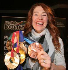 Clara Hughes Clara Hughes, I Am Canadian, Sport Hall, Ice Dance, Olympic Team, Canada, Summer Olympics, Women In History, Special Person