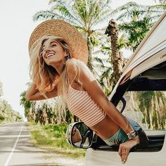 That time in Thailand when we just pulled over to the side of the road to take pics for a grove of palms.. and this happened. {peachy keen switch back   clementine hipster - shops them at albionfit.com}. #takeuswithyou