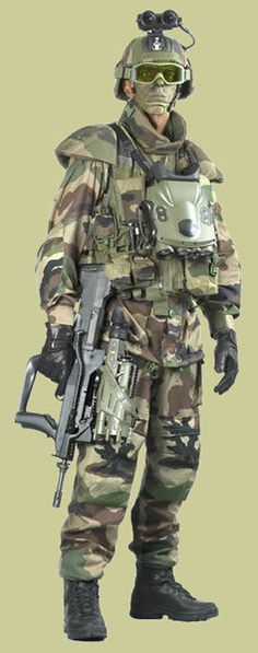 French Army_FELIN Infantry system