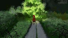 Favorite tweet by @naokisuzuki99 : #背景版深夜の真剣お絵描き60分一本勝負 お題黒い森 https://t.co/qU4MJ5aV4i
