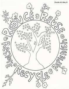 Reduce Reuse Recycle Doole