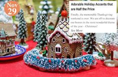 Christmas Décor Adorable Holiday Accents that are Half the Price: www.teelieturner.com #decor