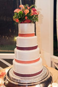 26 Best Floral Cake Toppers Images Cake Wedding Cakes Pretty