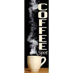 Banner Coffee Spot Indoor Banner 24 X 72 ( 2X6) Este Banner Cristiano con una…
