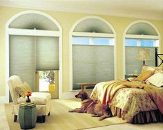 Beautify shades can be top down or bottom up to adjust the light in your room!