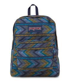 Classic Jansport Superbreak Backpack Nvy Pndt >>> Check out the image by visiting the link. Popular Backpacks, Backpacks For Sale, School Backpacks, Chevron Backpacks, Paint Chevron, Jansport Superbreak Backpack, Blanket Poncho, Teacher Discounts, Diy Sweatshirt