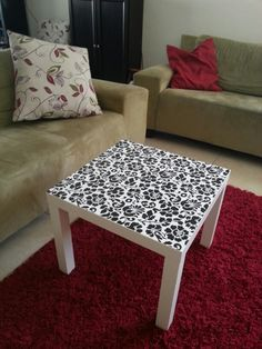 Ikea side table by Ayelet Shtain Interior Design