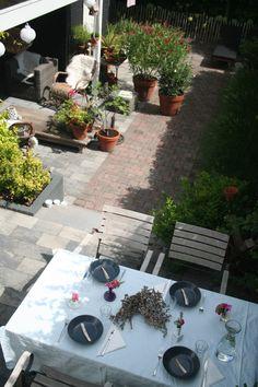 Tuinontwerp en Advies Merel & Mos project stadstuin Middelburg Patio, Outdoor Decor, Home Decor, Seeds, Decoration Home, Terrace, Room Decor, Porch, Interior Design
