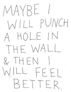 or a hole in a cubicle