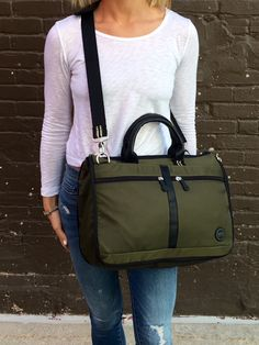 Affordable Style - Work bag with soooo many pockets inside and out!