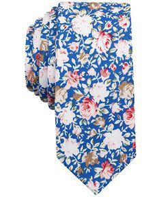 Penguin Men's Gulfstream Floral Slim Tie - Ties & Pocket Squares - Men - Macy's