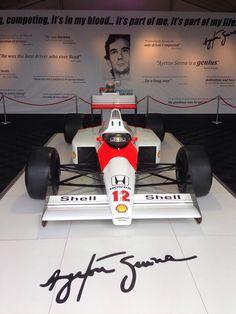 Ayrton Senna's 1988 McLaren MP4/4.