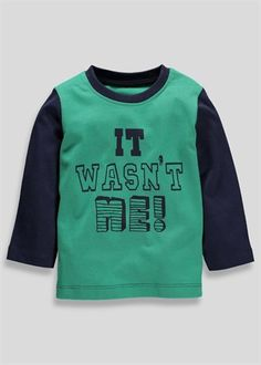 Boys Long Sleeved Top (3mths-5yrs)
